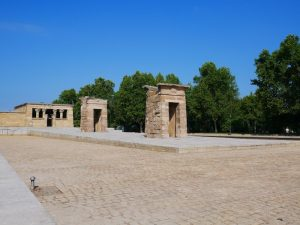 Madrid et son temple de Debod